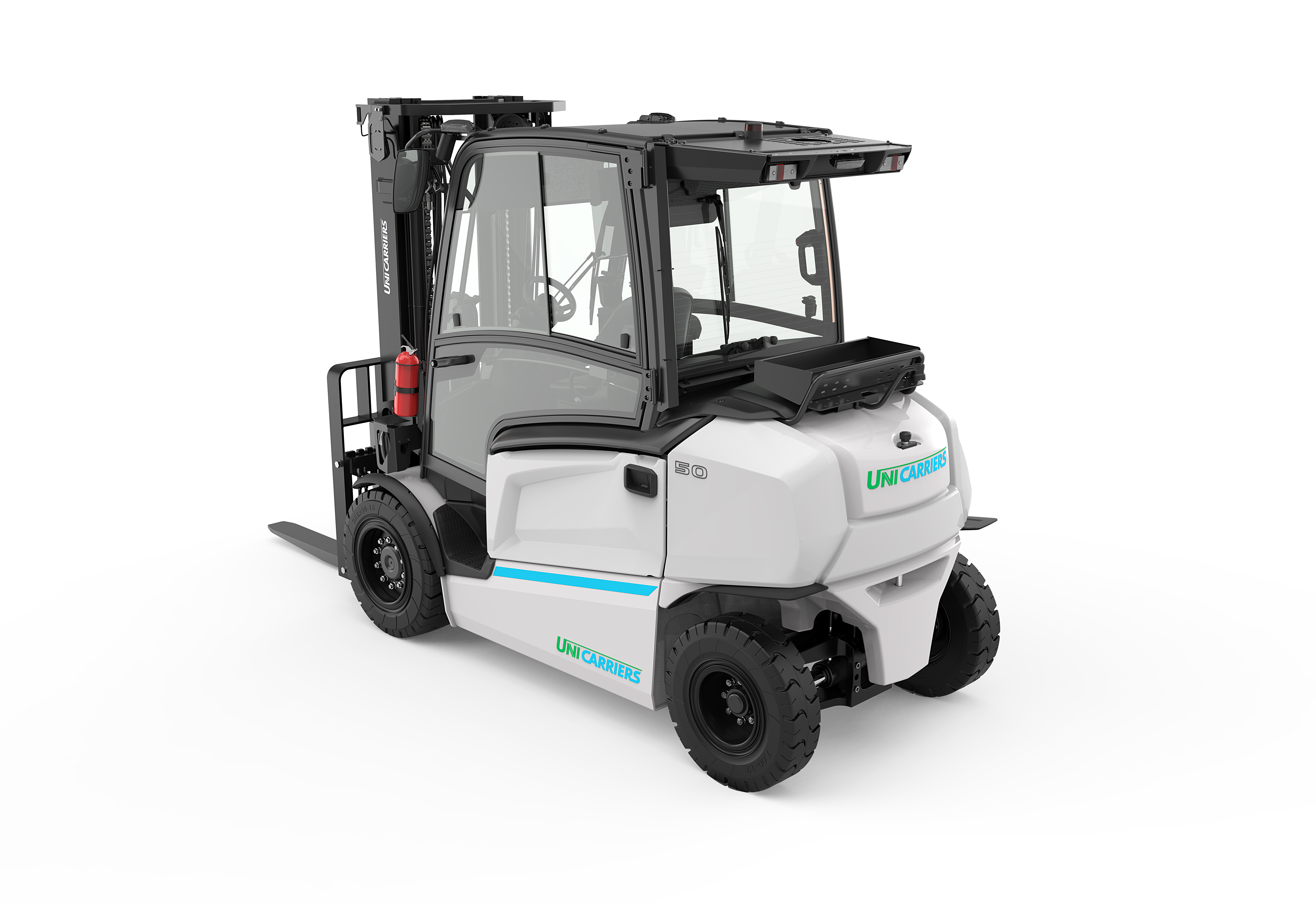 The UniCarriers MXL electric counterbalance truck_options