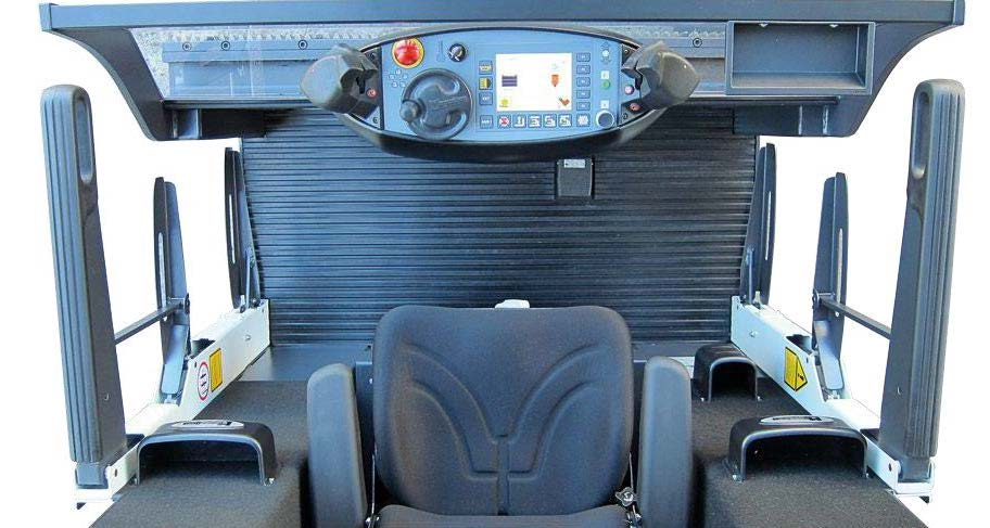 Man-up VNA truck cabin