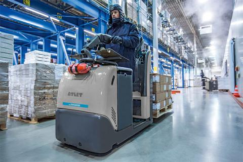 cold store pallet truck