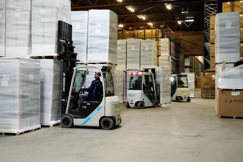 UniCarriers heftrucks bij Desch