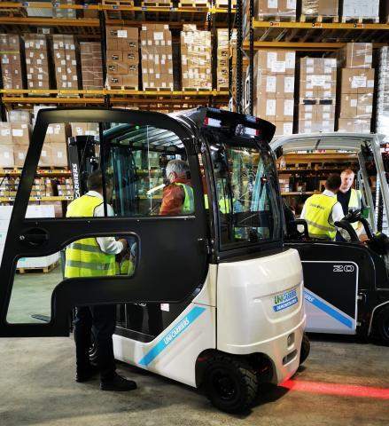 UniCarriers Logistics Analyser