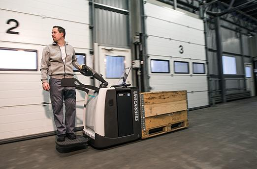 The UniCarriers PMR pallet truck