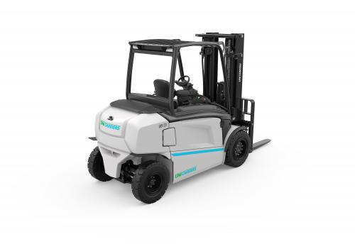 The UniCarriers MXL electric counterbalance truck_Left