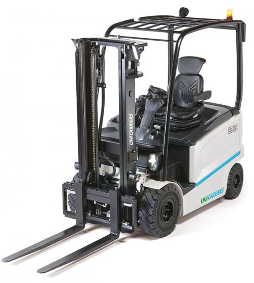 The UniCarriers MX 80V electric counterbalance truck