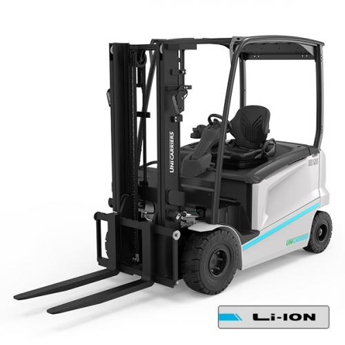 The UniCarriers MXL electric counterbalance truck