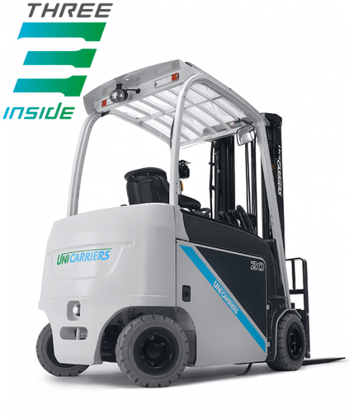The UniCarriers TX4 electric counterbalance forklift truck