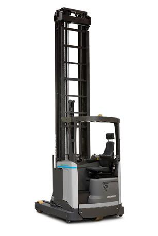 The UniCarriers UHX reach truck