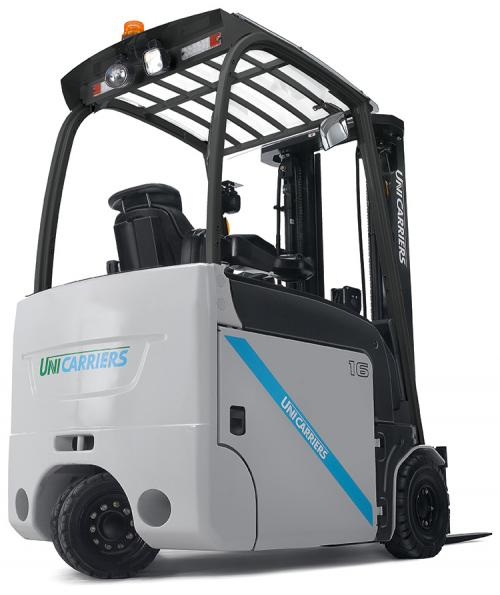 The UniCarriers TX3 electric counterbalance forklift truck