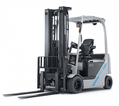 The TX4 counterbalance, from UniCarriers